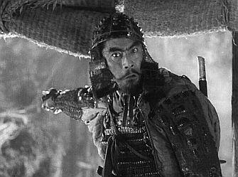 Mifune Toshiro, dans les Sept samouraïs de Kurosawa Akira